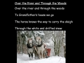 Over the River and Through the Woods sing-along