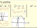 12.2 Solve Quadratics by Graphing