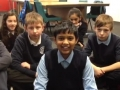 Raj talks about the pupils' visit to High School