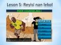Lesson 5 Summary - Creole - Super ELL