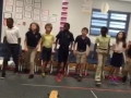 """15-16 Ms. Hamilton's (Ms. Hubner) 4th grade class """"Russian Dance"""" from the Nutrcracker"""