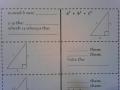 HW 01.07.16 Pythagorean Theorem Foldable