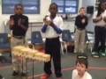 "15-16 Ms. Hamilton's (Ms. Hubner) 4th grade class ""Martin Luther King"" by Kriske/DeLelles"