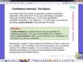 Confidence Interval Basics