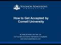 How to Get Accepted by Cornell University (Admissions Essays Explained)