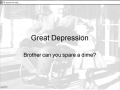 Great Depression part #1