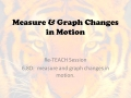6.8D Digital Reteach for Measure & Graph Changes in Motion
