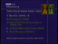 BBC History File:  The beginning of the Cold War Berlin 1945