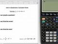Intro to Quadratics Calculator Notes