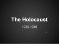 world war ii Holocaust