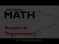 Analytical Trigonometry Photo Story