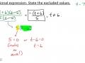 Algebra I @ Harrison: Simplifying Rational Expressions