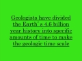 Geologic Time Notes