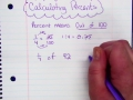 Calculating Percents
