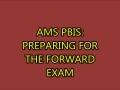 AMS PBIS: test taking