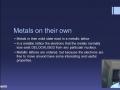 10. Metallic Lattice