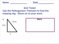 Pythagorean example