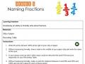 Orange 5 Naming  Fractions