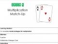Green 4 Multiplication Match Up