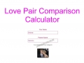 Love Pair Comparison Calculator
