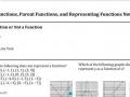 EOC Representing Functions