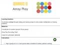 Yellow 2 Array Play