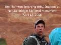 Canyonlands National Monument Geology Talk