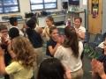 "15-16 Ms. Farina's (Ms. Hubner) 4th grade class ""Green Sally Up"" hand jives"