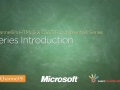 HTML5 & CSS3 - Series Introduction