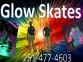 Glow skates