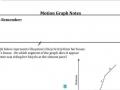 EOC Motion Graph Notes