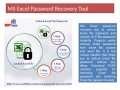 Remove excel file password & recover excel file password using XLSX Password Recovery