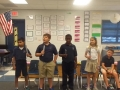 """15-16 Ms. Miller's (Ms. Hubner) 4th grade class """"You are my sunshine"""" choirchimes"""