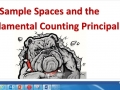Sample Space and Fundamental Counting Principal