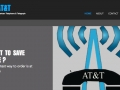Screen Recording of AT&T website redesign