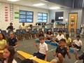 """15-16 Ms. Hanks' (Ms. Danley) 5th grade class """"Balafon"""" by Walt Hampton"""
