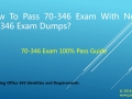 Pass 70-346 Exam With New 70-346 Exam Questions-70-346 Study Guide
