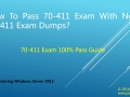 Pass 70-411 Exam With New 70-411 Exam Questions-70-411 Study Guide