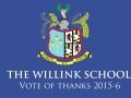Willink School - Vote of thanks