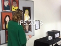 """Archibald Prize - Foundation Class demonstrating """"Peoples Choice Voting"""""""