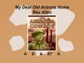 My Dear Old Arizona Home