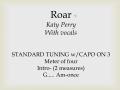 Roar (vocals)