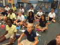 """16-17 Ms. Dunn's 5th grade class """"Musette"""" by Bach, from KidStix by Almeida"""