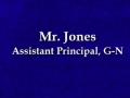 Mr. Jones Admin PSA