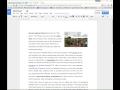 Google Docs View Menu