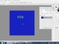 Move tool and Paintbucket Tool in Photoshop
