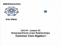 Common Core Algebra I.Unit 4.Lesson 3.Nonproportional Linear Relationships