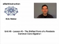 Common Core Algebra I.Unit 8.Lesson 3.The Shifted Form of a Parabola
