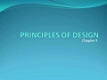 The Principles of Design, part 1