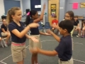 """16-17 Ms. Mickel's 4th grade class """"Omochi"""" Japanese Hand Clapping Game"""
